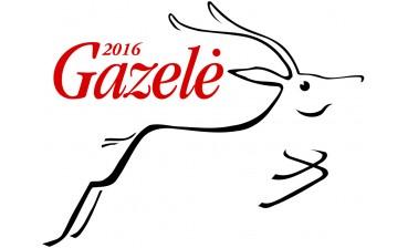 """""""Gazelės"""" apdovanojimai 2015-2017 metais"""