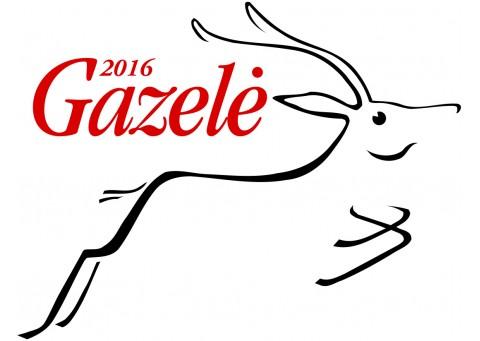 """""""Gazelės"""" apdovanojimai 2015-2016 metais"""