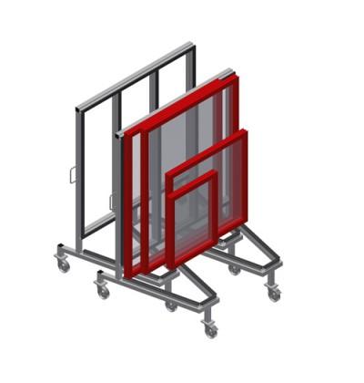 Produkcijos vežimėlis KW 3