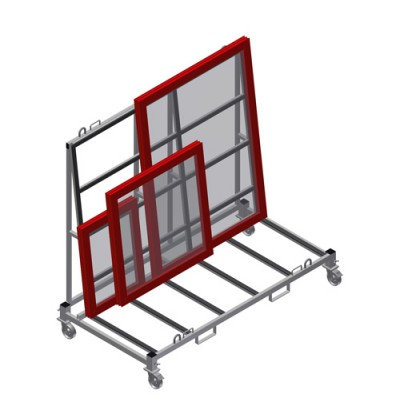 Produkcijos transportavimo vežimėlis KW 4