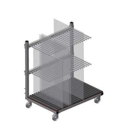 Stiklo transportavimo vežimėlis GF 1000