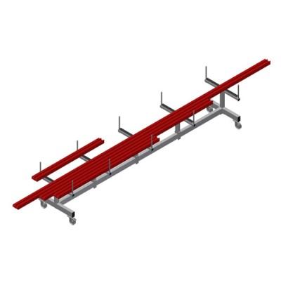 Profilių transportavimo vežimėlis PLW 4000